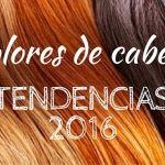 Colores de cabello: tendencias 2016