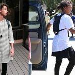 Jaden Smith, hijo de Will Smith viste ropa de mujer en campaña de Louis Vuitton