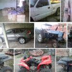 Fuerte golpe a la delincuencia: Aseguran gasolina, productos robados al tren y vehículos robados