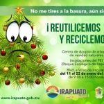 ¡No lo tires a la basura…recicla tu árbol de Navidad!