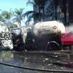 Explota pipa de Gas Express Nieto frente a guardería