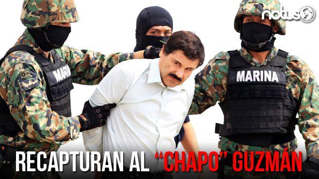 "Photo of Recapturan al ""Chapo"" Guzmán, confirma Peña Nieto"