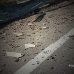 Reportan cinco heridos en accidente sobre la Salamanca-León