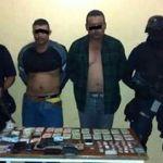 Penjamense detenido en Numarán con armas; hay otro detenido