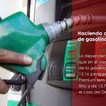 Hacienda anuncia precios de gasolina para febrero