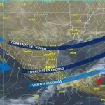 Probabilidad de heladas ligeras en zonas altas y serranía