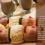 Rellena de cajeta, chocolate o tradicional… ¿Cómo la prefieres?: Rosca de Reyes Magos