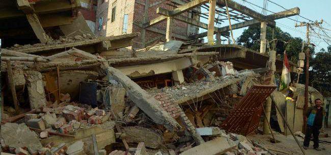 sismo en la india