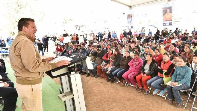 """Photo of En marcha construcción del Centro Impulso Social """"Las Palomas"""" en Guanajuato capital"""