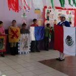 Fortalecen identidad de los símbolos patrios en CAM de Huanímaro
