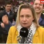 Borracho acosa sexualmente a reportera en plena transmisión en vivo