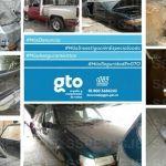 Aseguran autos robados, droga y arma en Irapuato y Salamanca