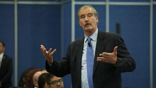 """Photo of """"No voy a pagar por ese muro de mierda"""": Vicente Fox"""