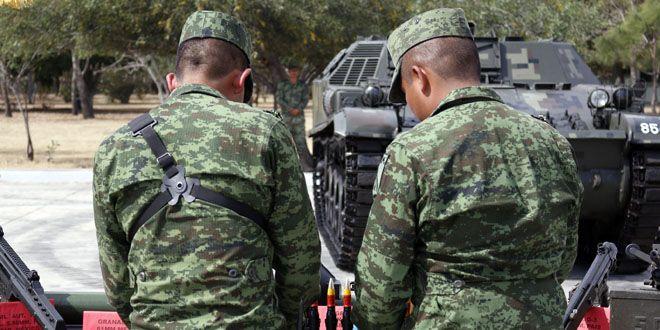 Photo of 63 detenidos, granadas y lanzagranadas por Ejército Mexicano de Guanajuato