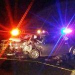 Dos muertos y ocho lesionados en un accidente en Abasolo