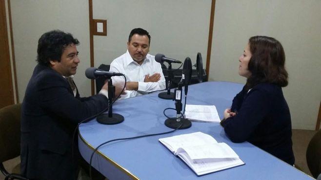 rector Corona y dr. Murillo