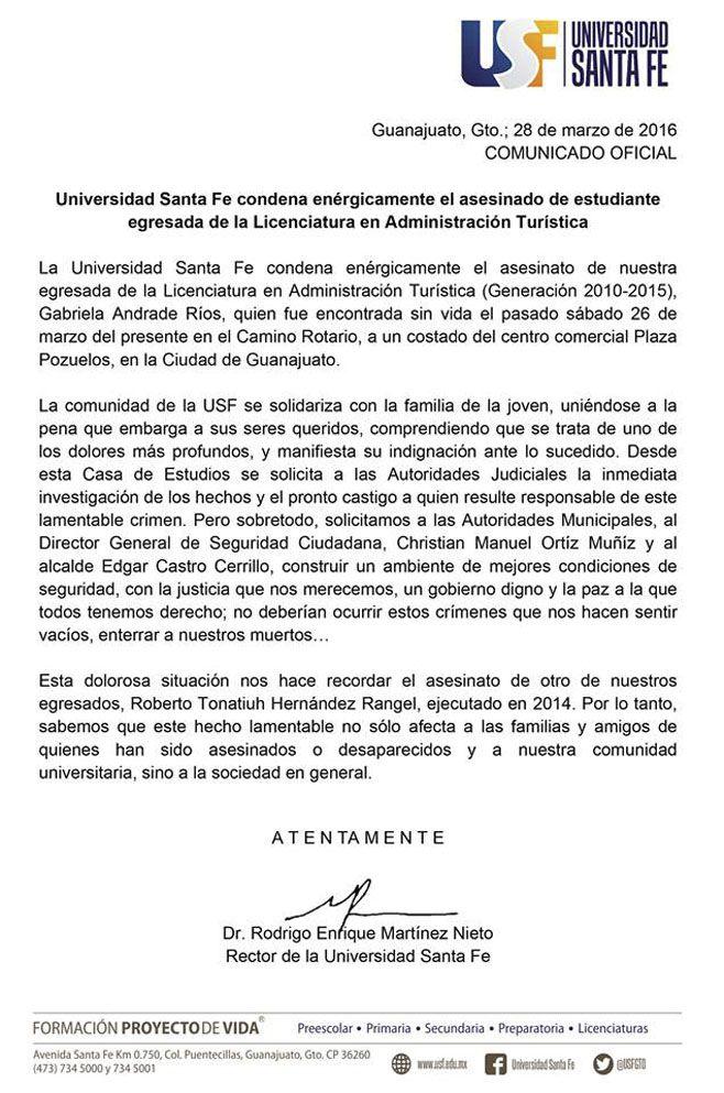 GABRIELA ANDRADE GUANAJUATO