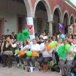 Celebran el Día Internacional de la Mujer en jardín central de Pueblo Nuevo