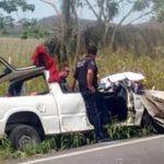 Ocho mujeres campesinas resultaron lesionadas en accidente
