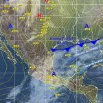 Probabilidad de lluvias con granizo en el territorio estatal