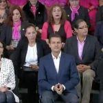 """Peña Nieto presenta el programa """"Mujer Pyme"""""""