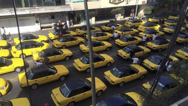Photo of Taxistas de Guadalajara protestan contra Uber