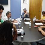 Se reúnen transportistas con autoridades municipales de Seguridad Pública