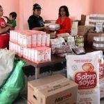 Presidenta Dif Huanímaro entrega insumos a Comedores Comunitarios