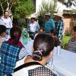 Dialoga alcalde con habitantes de El Platanar