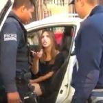 #Ladyfresa ebria provoca accidente y soborna a policías (Video)