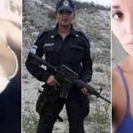 Circulan más fotos de mujer policía posando en toples