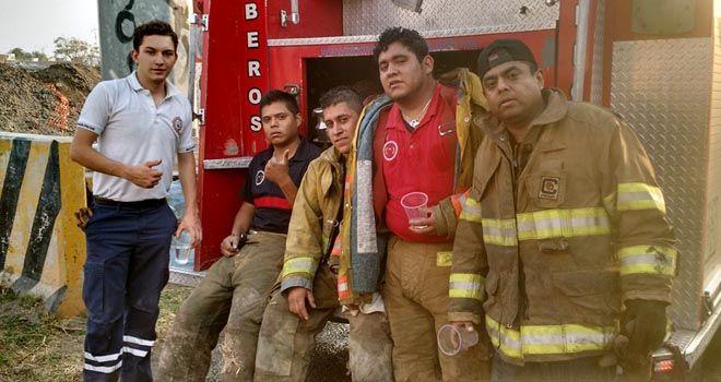 """Photo of Incendio """"acaba"""" con poliespuma; salida a León"""