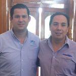 Analizan SEDESHU y Alcalde, programas sociales para Cuerámaro