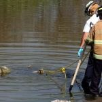 Flota cuerpo en el río Lerma en Pénjamo; cuatro cuerpos en un año
