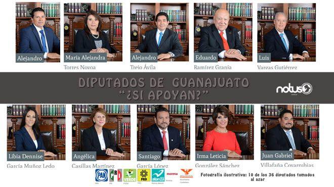 """Los diputados de Guanajuato reciben 87 mil pesos para operar las llamadas """"Casas de Gestión""""."""