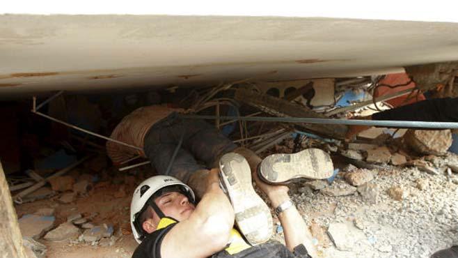 Photo of Rescatan a 3 personas luego de 32 horas del temblor