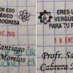 Despiden al maestro que utilizó sellos con frases denigrantes