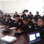 Continúan capacitaciones para policías de Cuerámaro