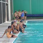 Natación una buena opción deportiva para niños neopoblanos