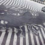 Ola de calor en la India derrite las calles