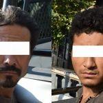 7 detenidos por robo al tren y casa habitación