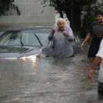 Inundación atrapa a Obispo de Morelia