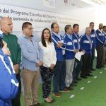 Arranca programa escuelas del deporte y firman convenio CODE – Comité Olímpico