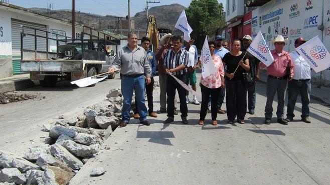 Photo of Sustitución de colectores de red de atarjeas en zona centro