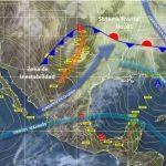 Probabilidad de lluvias aisladas sobre algunas regiones del estado