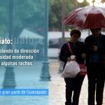Lluvias ligeras durante las próximas horas en gran parte del estado