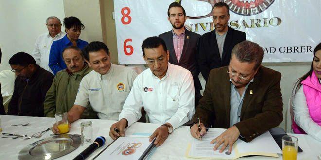 Photo of Firma Ricardo Ortiz,  pacto a favor de la clínica nivel 3 del IMSS y cambios al código penal