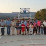 Juan José García López encabeza inauguración del Parque Deportivo Las Américas