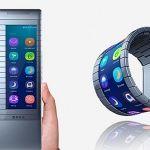 Desarrollan smartphone enrollable que servirá de pulsera