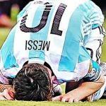 Messi anuncia que se va de la selección
